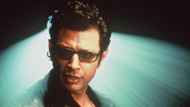 Jeff Goldblum in Jurassic Park.