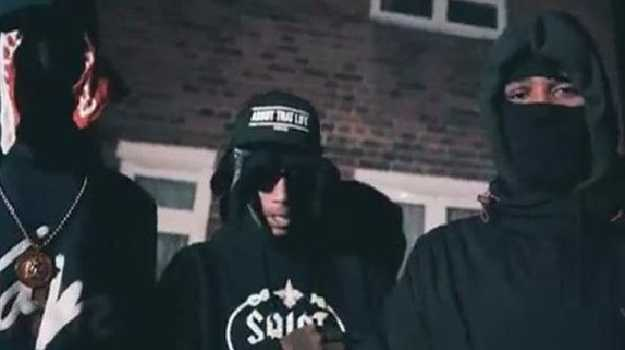 """The members of 1011 have been jailed and had their """"violent"""" lyrics banned. Picture: MET Police UK drill music gang banned from making violent music"""