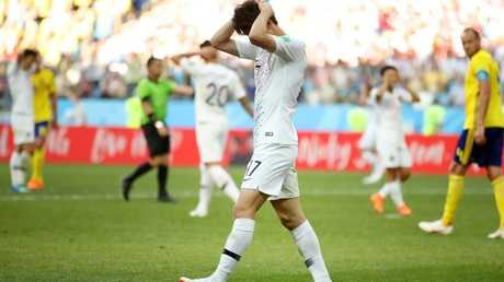 It was a disappointing performance from Korea Republic. (Clive Mason/Getty Images)
