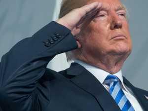 Trump announces bizarre space mission