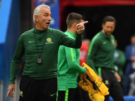 Bert van Marwijk has been embraced by Socceroos fans, but the Danes have been watching as well... Pic AAP