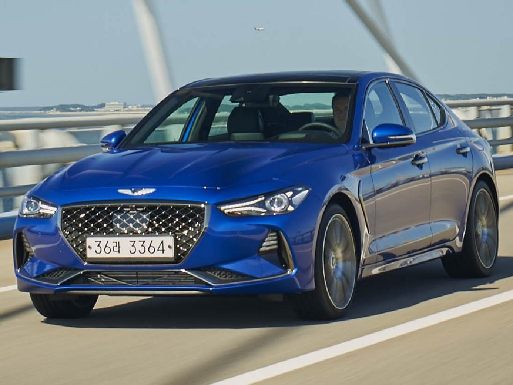 Genesis G70 sedan: A rival for BMW's 3 Series and the Mercedes-Benz C-Class.