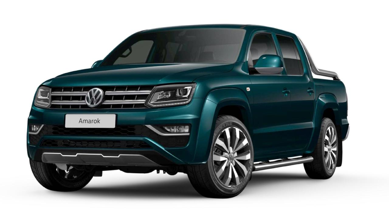 The more powerful VW Amarok Ultimate TDV6 is due in September. Picture: Supplied.