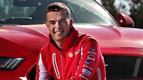 Supercars championship leader Scott McLaughlin at Queensland Raceway. Picture: Annette Dew