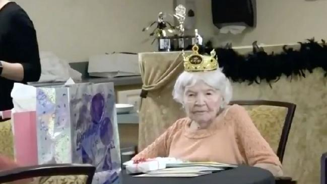 Helen Granier has just celebrated her 105th birthday. Picture: WTSP