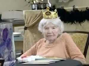 105-year-old has outrageous tips for longevity