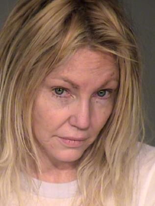 Heather Locklear went to rehab after this February arrest. Picture: Ventura County Sheriffs Office via Getty Images