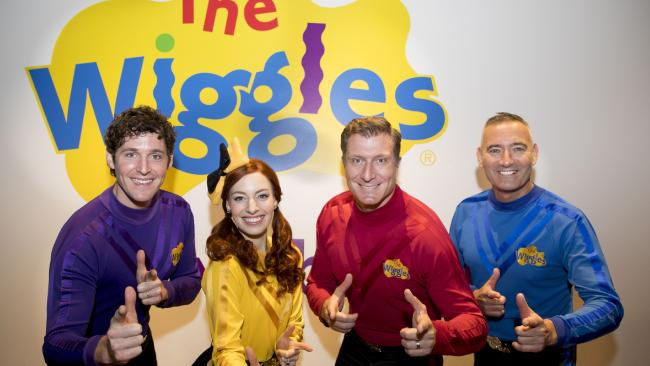 Blue Wiggle Anthony Field has been rushed to hospital in the US. Picture: Marinco Kojdanovski. Healthy eating is important to The Wiggles
