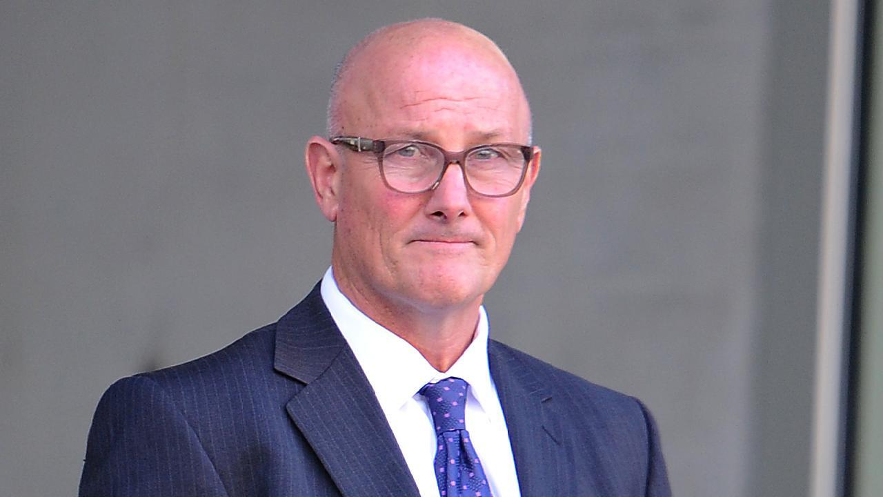 David Pirie leaving Brisbane Supreme Court. Picture: AAP/John Gass