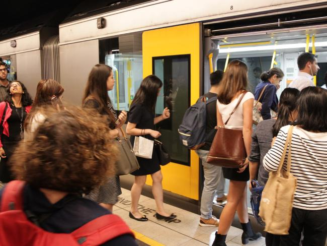 The NSW Government will spend big to cut commute times. Picture: Christian Gilles