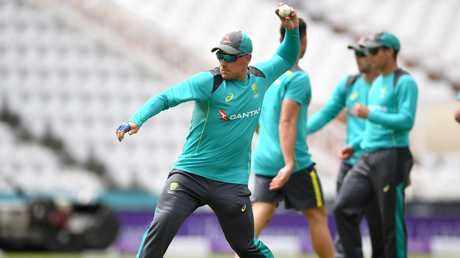 Aaron Finch said on Monday that he's comfortable coming in at five.