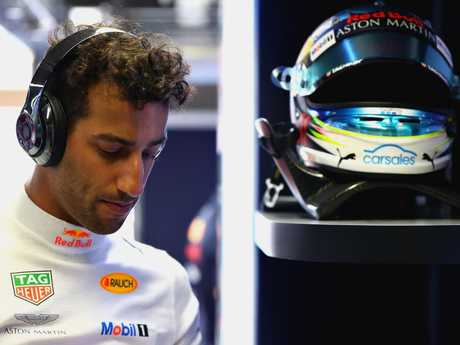Will Daniel Ricciardo be in a Red Bull with a Honda engine next year?