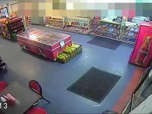 Sarina Armed Robbery CCTV