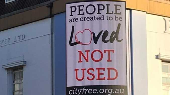 Porn Free Toowoomba: Group installs new billboards
