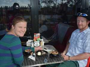Coffee Barn. Sheena Bowditch and Douglas King.