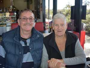 Coffee Barn. Terry Pesch and Lynda Wyatt.