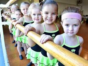 Sparks Dance Centre - baby ballet.