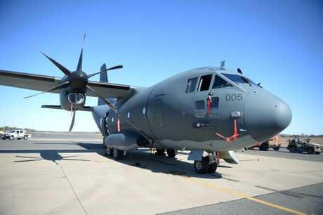 A C-27J Spartan.