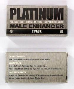 SEX DRUG BAN: The TGA have announced the men's sex enhancement drug Platinum contains prescription-only medicines and is illegal in Australia.