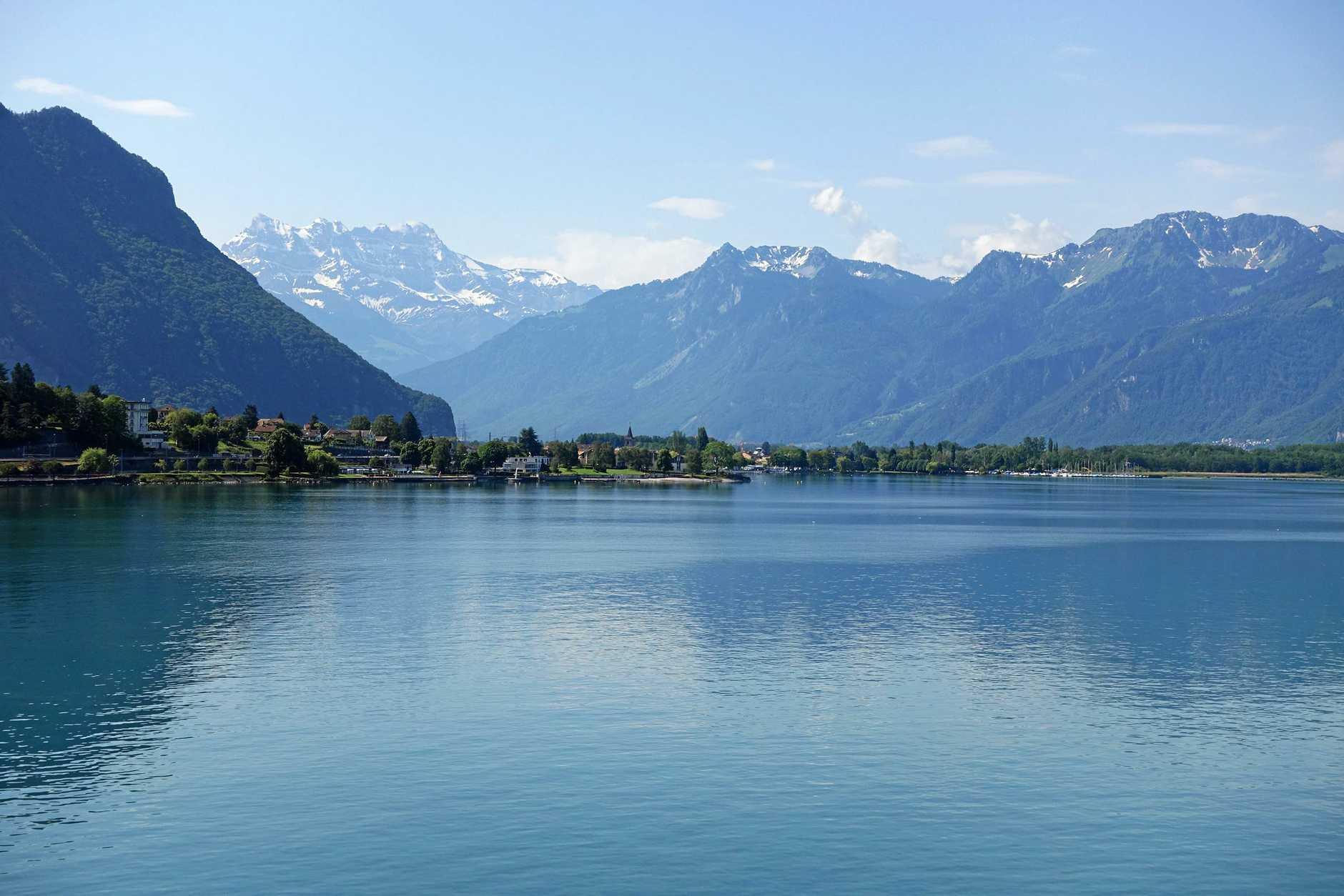 The serenity of Lake Geneva.
