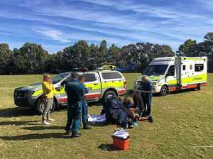 Coast schoolboy airlifted after traumatic javelin incident