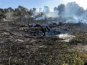 Campfire becomes a bushfire