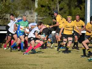 Classic Rats efforts at home rugby union game