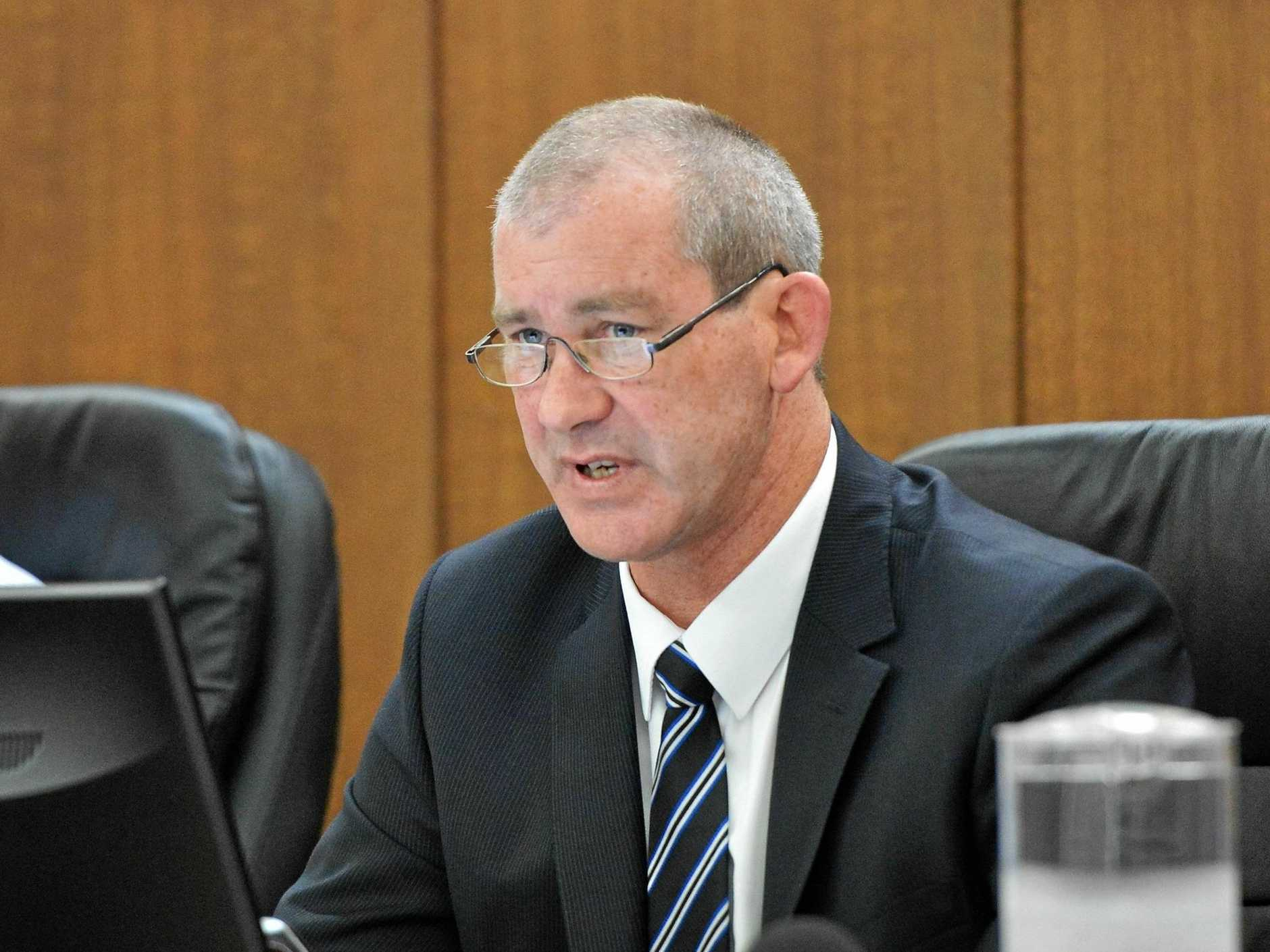 Gympie Regional Council Mayor Mick Curran.