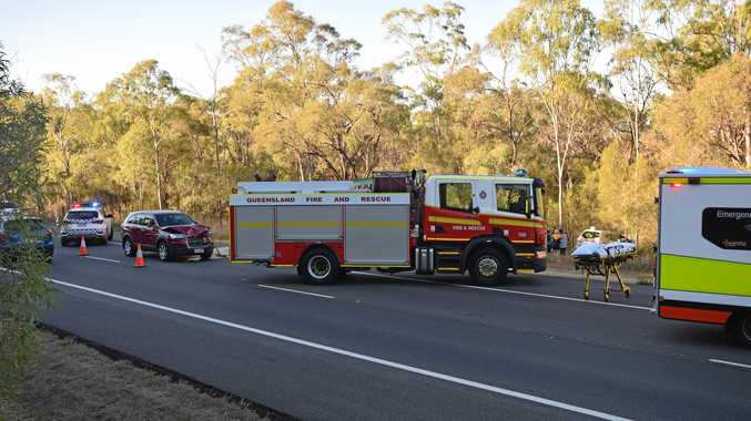 DOUBLE TROUBLE: Emergency crews called to two accidents