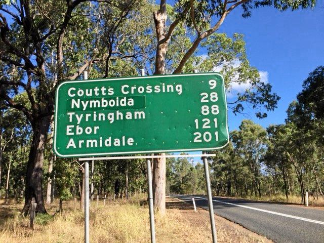 Coutts Crossing should be renamed.