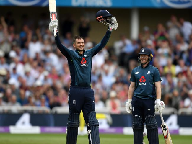 Alex Hales was unstoppable.