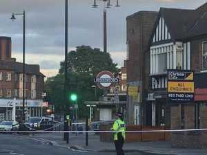 Blast at London Tube station