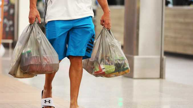 Plastic bags are being banned, but they're actually far from the worst bag we use regularly. Picture: AAP Image / Angelo Velardo.