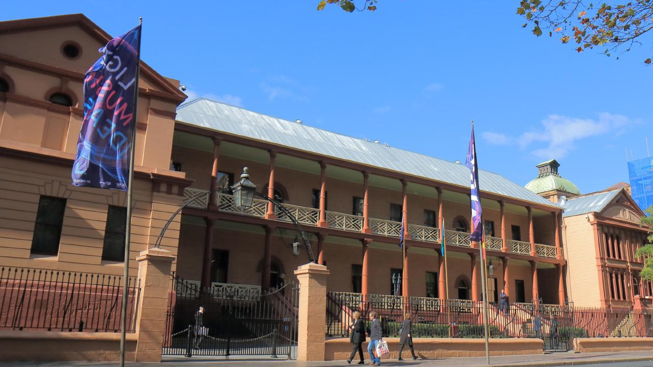 The ad described Parliament House as 'one of Sydney's most prestigious and historic locations'. Picture: Supplied