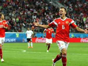 Egypt brain fade leads to rampant Russian win