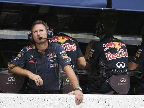Red Bull boss Christian Horner pulled the trigger.