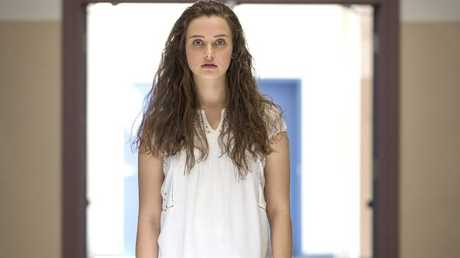 The show centres around Hannah Baker, played by Katherine Langford.