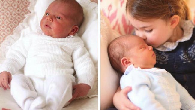 Prince Louis' christening details revealed