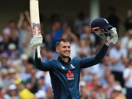 Alex Hales scored a staggering 147 runs off 92 balls.