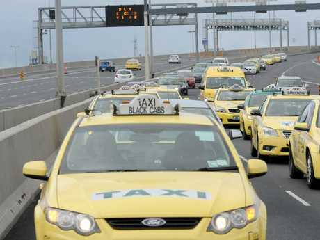 Taxi drivers are being scammed in Melbourne. Picture: Joe Castro/AAP
