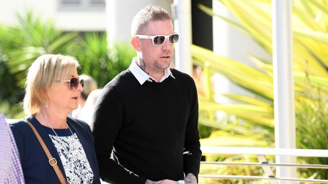 David Turner, husband of victim Kate Goodchild (AAP Image/Dan Peled)