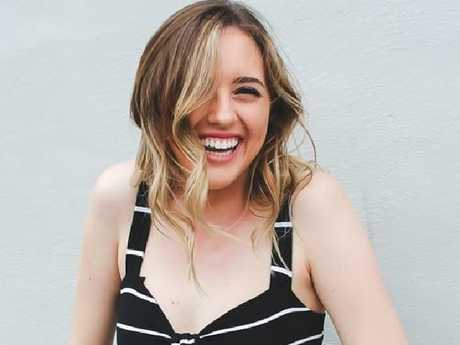 Courtney Raine, who has nearly 10,000 followers on the social media channel, hopes to inspire other young women.