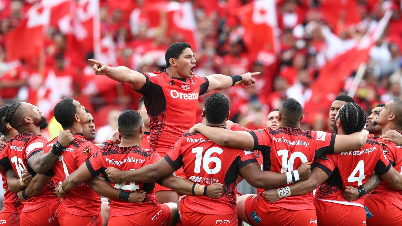 Jason Taumalolo wants Tonga to take on the best. (Photo by Phil Walter/Getty Images)