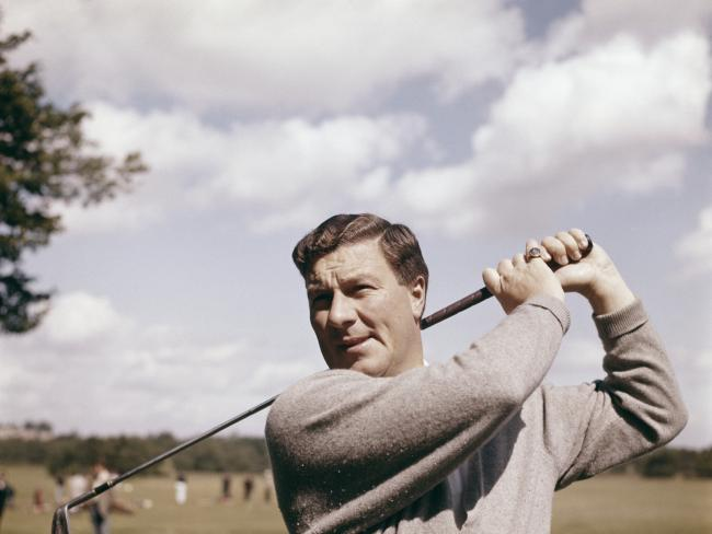 Five-time British Open champion Peter Thomson. Picture: Don Morley/Getty Images