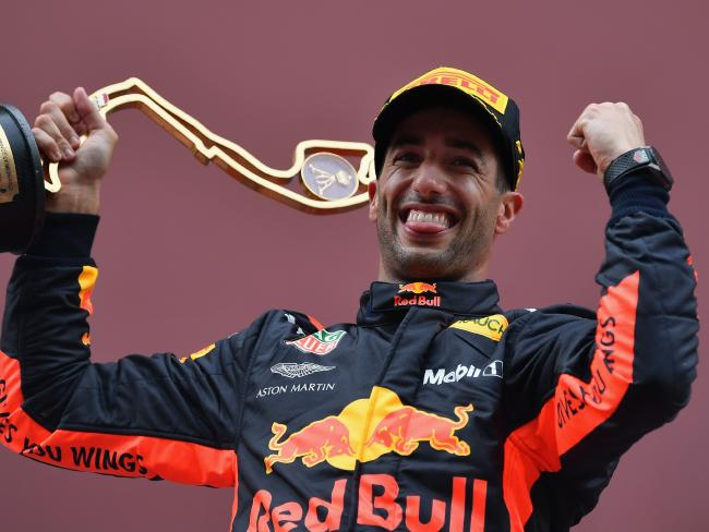 Ricciardo wants a world title and he wants it now.