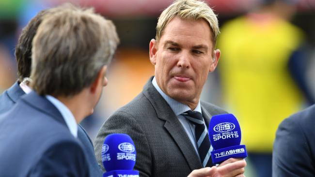 Warne: 'What the hell ... What's going on?'
