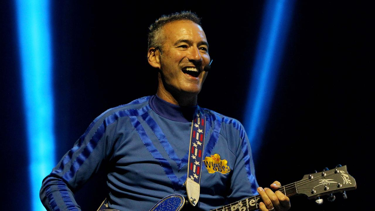 Blue Wiggle Anthony Field. Picture: Chris McCormack.