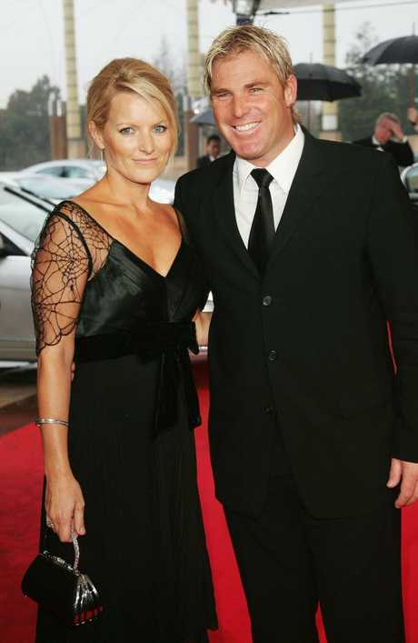 Simone was married to Shane Warne for a decade. Picture: MJ Kim/Getty Images for Laureus