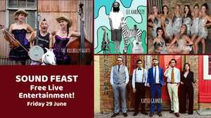 Sound Feast is an incredible FREE concert at The J Theatre featuring awesome bands and performers.