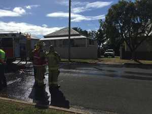 Fire crews battle second house fire in less than a week